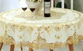 plastic lace tablecloths vinyl lace tablecloths 70 round