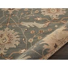 green and brown area rugs new birch laneâ constance hand tufted wool blue area