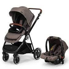 Elele Ranger 2 Travel Sistem Bebek Arabası Kahverengi |