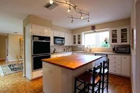 kitchen led track lighting. Stainless Steel Kitchen Track Lighting With White Cabinets And Led .