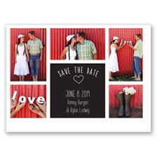 Red Save The Date Cards Photo Love Save The Date Card