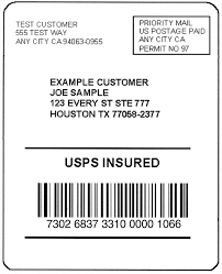 usps barcode format domestic mail manual s913 insured mail