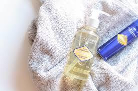 l occitane immortelle precious cleansing oil and immortelle precious mist
