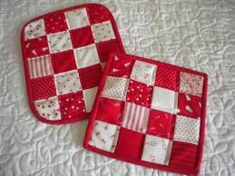 Quilted Hot Pad Patterns Free - Best Accessories Home 2017 & Quilted Potholder Tutorial Instructions Patterns To Try Adamdwight.com