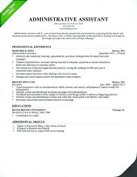 Duties Of Administrative Assistant Enchanting Administrative Assistant Job Duties For Resume Senior Administrative