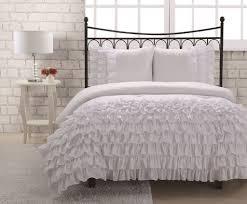 Full Size Miley Mini Ruffle Comforter Set - Pure White - Walmart.com &  Adamdwight.com