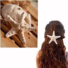 2Pcs Hot Sell Handmade Natural Starfish Hairpin ... - Amazon.com