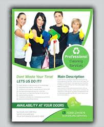 Housekeeping Flyers Templates House Cleaning Ads Examples Flyer Template Housekeeping Flyers Maid