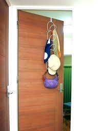 Over The Door Hat Rack Beauteous Hanging Hat Rack Over The Door Closet Racks Cap Walmart Ha
