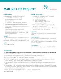 Membership List Template Free Printable Mailing List Templates At Allbusinesstemplates Com