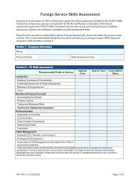 Performance Evaluation Form Template Awesome Hr Employee Review ...