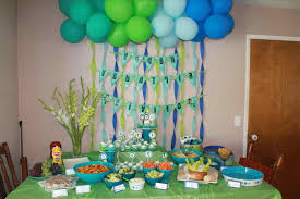 best decor 1st birthday party simple decorations at home best st