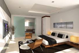 beautiful living room apartment decoration white painted walls black area rug natural finished chairs comfortable