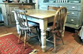 country kitchen sets round country