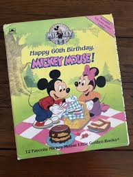 Mickey Mouse 60th Birthday Book Set ...