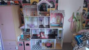building the grand estate doll house i bought from costco toy junky