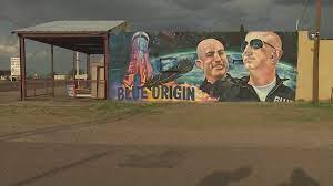 Locals embrace Blue Origin mural in Van ...