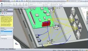technicom test part 8 shows how inventor and solidworks compare solidworks electrical routing tutorial pdf at Wiring Harness Design Solidworks