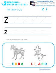 Included in your teacher account is access to 220 free phonics worksheets to use as a whole class, a reading rotation activity or homework. Learning Letter Z Phonics Sound With Phonemic Awareness Activities