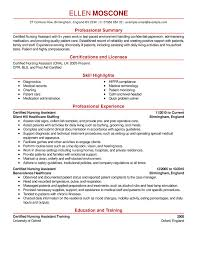 Best Ideas of Certification Resume Sample For Your Template