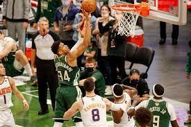 Milwaukee Bucks vs. Phoenix Suns NBA ...