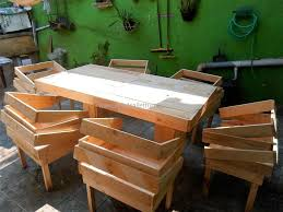pallet furniture. creative idea for recycled pallet furnit furniture d