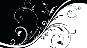 black and white scroll wallpaper q beautiful wallpapers