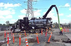 Hydro Excavator Truck Vacuum Excavation Company Hydro Excavation Services