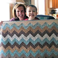 Chevron Quilt Pattern Cool Carolyns Chevron QuiltFree Pattern The Quilting Company