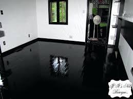 black gloss vinyl flooring astonishing on floor intended painted
