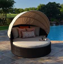 japanese patio furniture. Charming Canopy Broyhill Outdoor Furniture With White Round Beds Japanese Patio