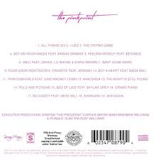 the pinkprint album cover.  The The Highly Anticipated Album Is Slated To Feature Many Musicians Minaj Has  Collaborated With Before Such As Beyonc Lil Wayne Drake Meek Mill And Chris  And Pinkprint Album Cover