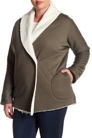 Nordstrom Rack Plus Size Coats SUSINA Bonded Faux Fur Lined Jacket Plus Size Nordstrom Rack 59