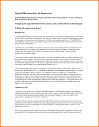 It Support Contract Template With 5 Memorandum Of Agreement Template