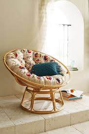 furniture bedroom design with white comfort and grey fluffy reading room round cream cozy papasan chair