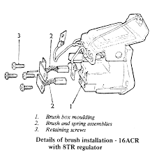 lucas acr alternator wiring diagram wiring diagrams and schematics vw alternator wiring diagram lucas vole regulator generator to alternator conversion