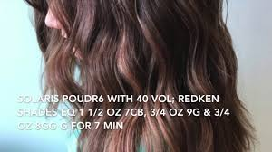 hair painting balayage tutorial warm copper brunette