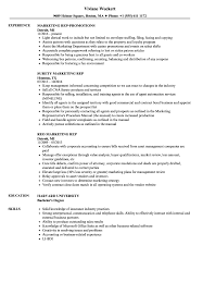 Marketing Rep Resume Samples Velvet Jobs