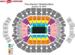 Yum Concert Seating Chart Yum Center Seating Chart Seat Numbers Www