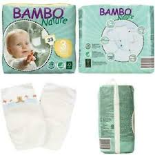 Details About Bambo Nature Eco Friendly Baby Diapers Classic For Sensitive Skin Size 3 11 20