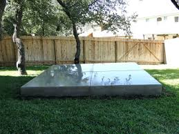 concrete slab patio makeover. Modren Makeover Concrete Slab For Backyard After Hot Tub Pad Patio Makeover To Concrete Slab Patio Makeover
