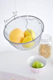 DIY Hanging fruit basket Closer