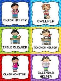 Classroom Jobs Clip Chart Classroom Jobs Classroom Job