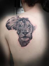 Lion Back Tattoos Designs 14 African Tattoo Images Pictures And Design Ideas