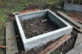 concrete raised beds concrete raised garden beds build block plans precast concrete raised garden beds