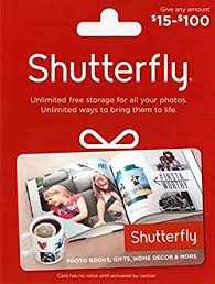 Shutterfly $50 Gift Card: Gift Cards - Amazon.com