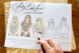 Pretty Little Liars Coloring Book Unofficial Printable Download For