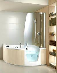 corner jacuzzi tub shower combo whirlpool combinations jetted bathtub with interior show