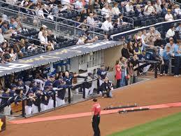 Petco Park Seating Chart Field Box San Diego Padres Third Base Coaches Box Padresseatingchart Com