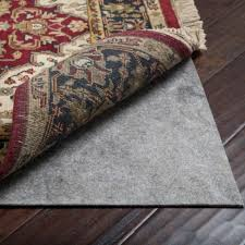 8 x 10 mohawk 14 thick recycled felt rug pad for hard floors regarding carpet pad
